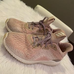 Adidas AlphaBounce Blush Pink Sneakers